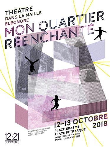 Mon Quartier réenchanté affiche 2018